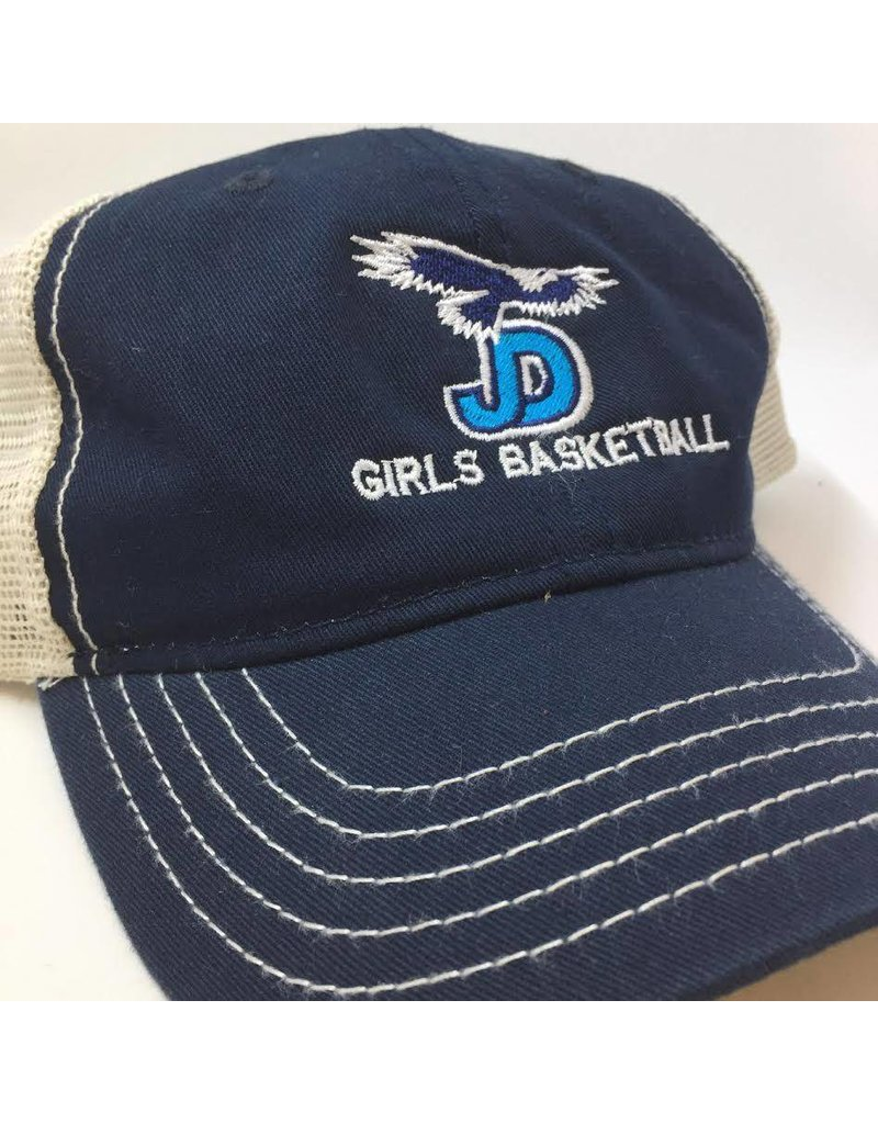 Hat - JD GBBALL  Soft mesh, enzyme-washed twill  cap