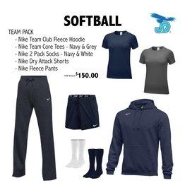 SOFTBALL - Mandatory Athlete Pack, JD Softball Team