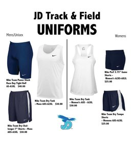 JD Track & Field Nike Team Uniforms