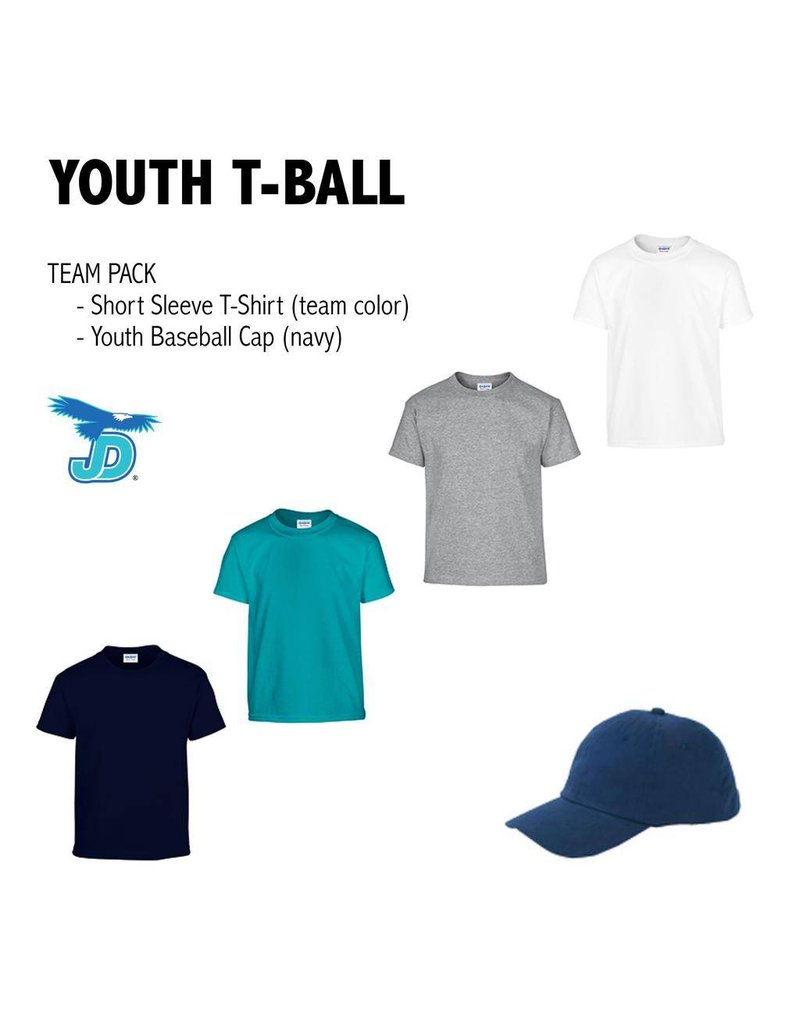 JD Youth Teeball Nike Team Uniform Pack - order now