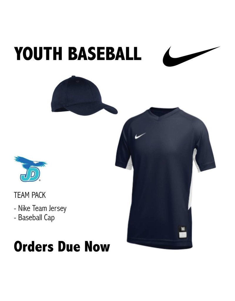 009f63c40161 JD Youth Baseball Nike Team Uniform Pack - order now - Saint Paul s Place