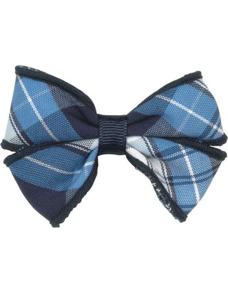 SJB Bow Tie Barrette, Plaid