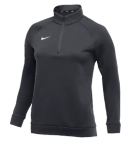 Ladies Custom Nike 1/4 Zip Jacket zip, JD/Eagle on right chest