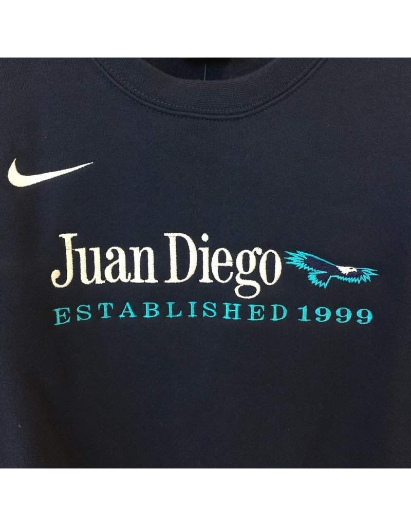 Nike Fleece Crew Neck Sweatshirt, Juan Diego Est. 1999