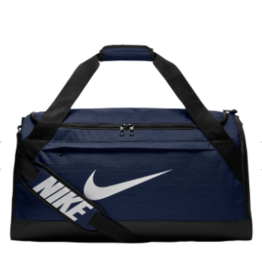Bag - Custom Nike Brasilia Duffle Bag, Navy
