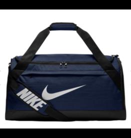 Custom Nike Brasilia Duffle Bag, Navy
