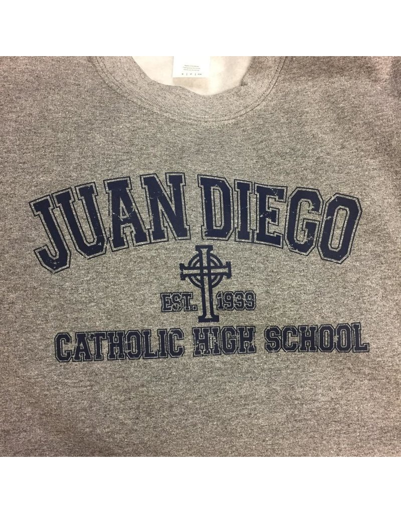 SWEATSHIRT - JD Crew Neck Juan Diego Catholic High School Sweatshirt