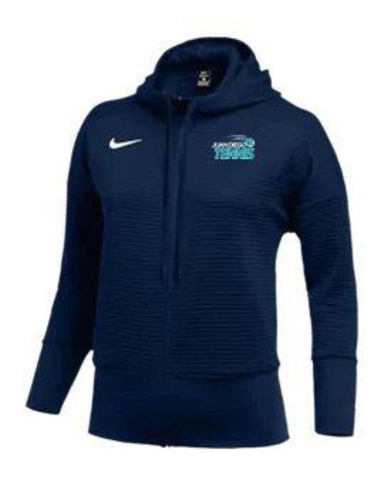 JD Tennis Nike Team Authentic Dry Full-Zip Hoodie - Women's Navy