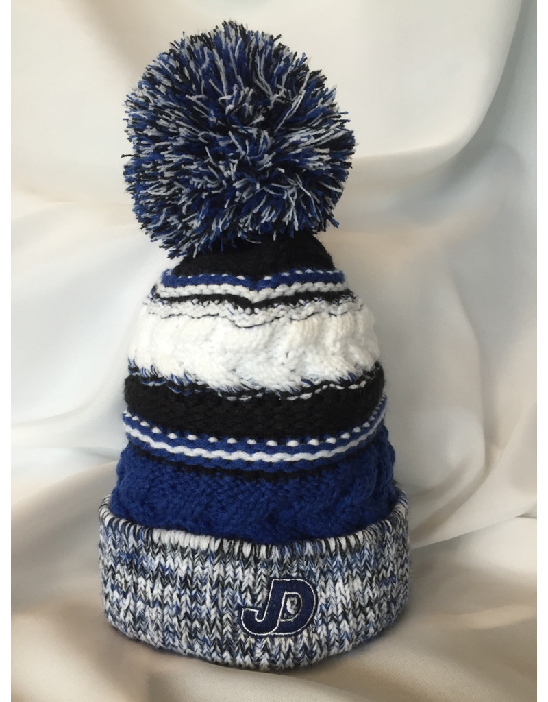 Knit Hat - JD Pom Pom Hat