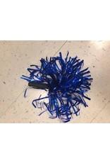Blue pom-pon