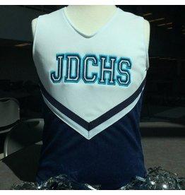 Cheer - JD Mini Custom Cheerleader Overlay Tank