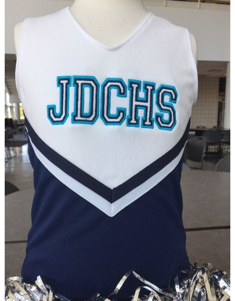 JD Mini Custom Cheerleader Overlay Tank