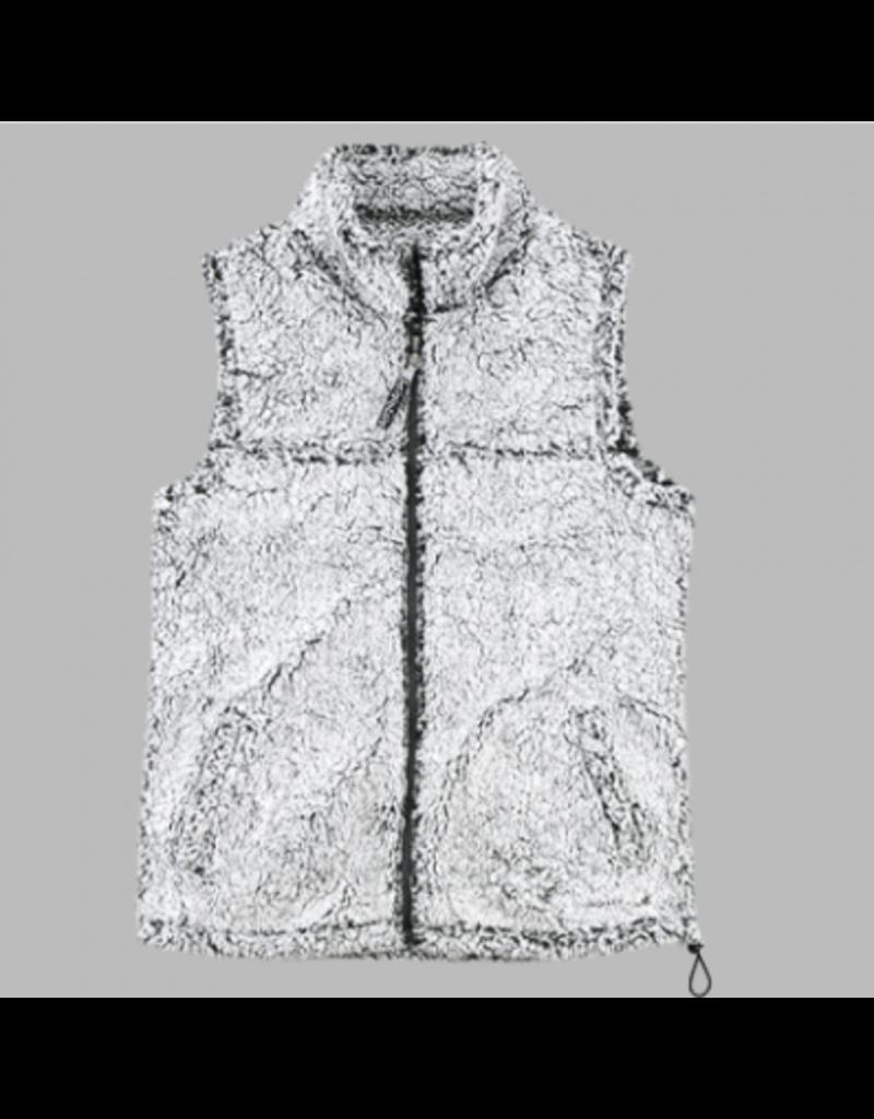 JD Sherpa - Ladies full zip vest