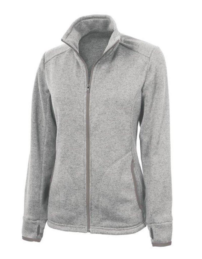 Ladies Full Zip Jacket with JD logo