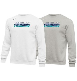 Swimming - JD Swim Nike Crew Neck in white, navy or grey