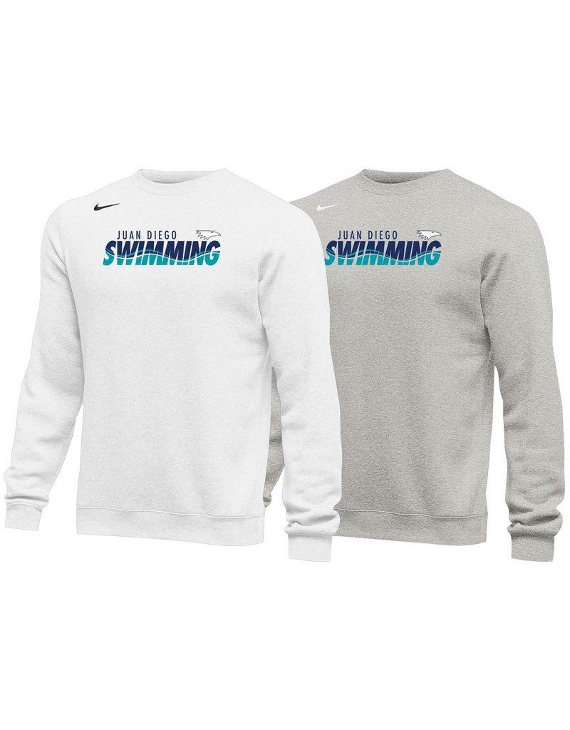 JD Swim Nike Crew Neck in white, navy or grey