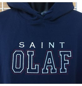 Saint Olaf Custom Hooded Sweatshirt, Saint Olaf Spirit Wear