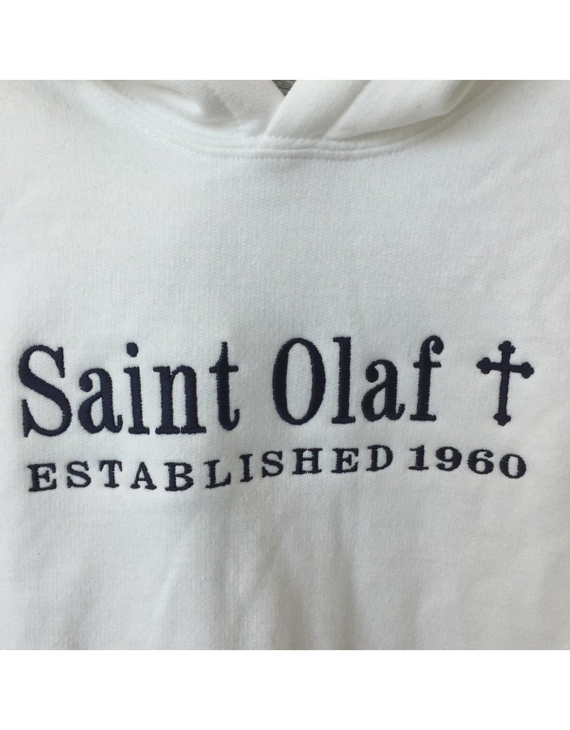 Saint Olaf Custom Spirit Wear Hooded Sweatshirt., Est. 1960