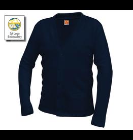 TEST Saint Andrew Cardigan Sweater, Unisex