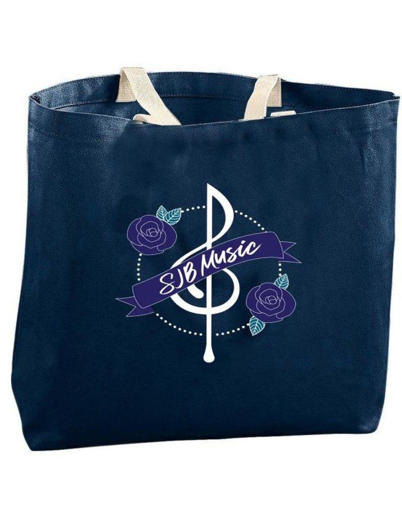 SJB Music Tote Bag, SJBMS