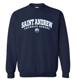 Saint Andrew Crew Neck Sweatshirt Navy