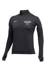 JD Nike Team Dry Element 1/2 Zip Top, Custom, - Women's, Gray
