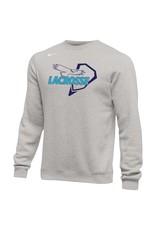 Lacrosse - Custom JD Lacrosse Crew Neck Sweatshirt, Unisex