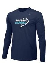 Lacrosse - Nike Legend Long Sleeve Shirt, Unisex