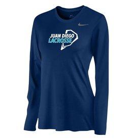 Lacrosse - Ladies Nike Legend Long Sleeve Shirt