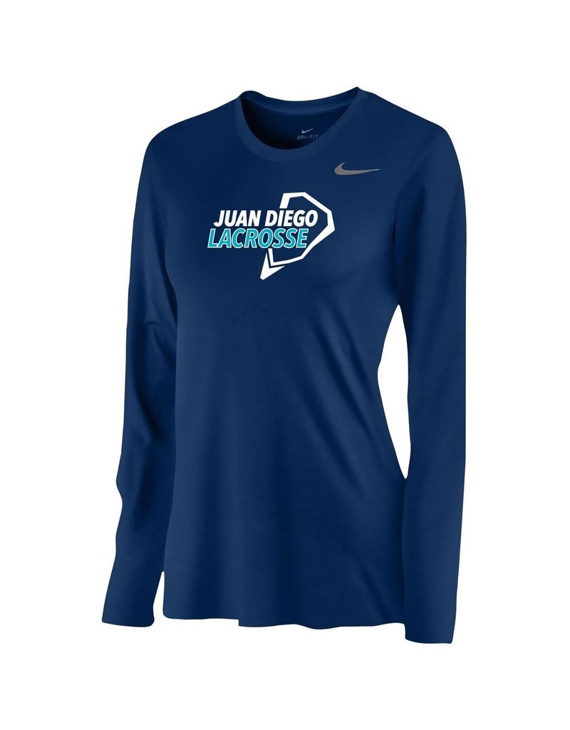 Lacrosse - Nike Legend Long Sleeve Shirt, Ladies