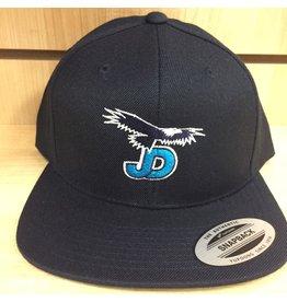 Hat - JD Snapback Cap, Flat Brim, adjustable