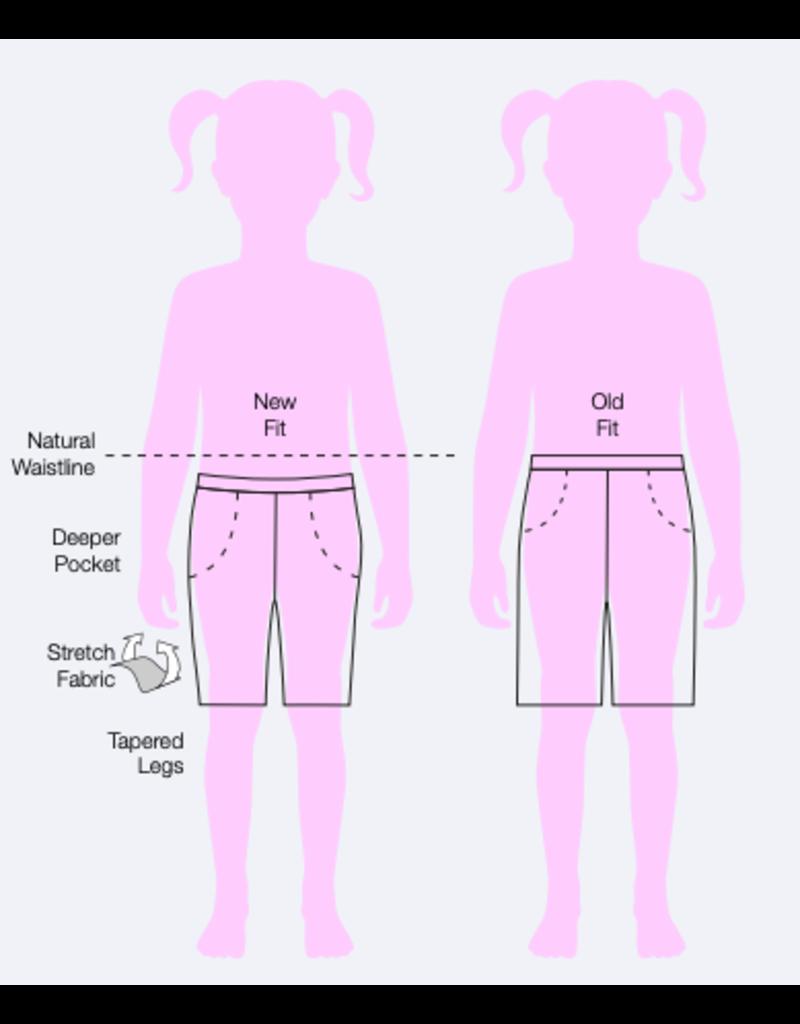 SHORT -  Girls Navy Short - new style