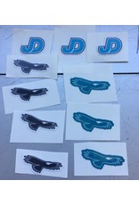 JD Mini-Sticker - JD, mini variety decal