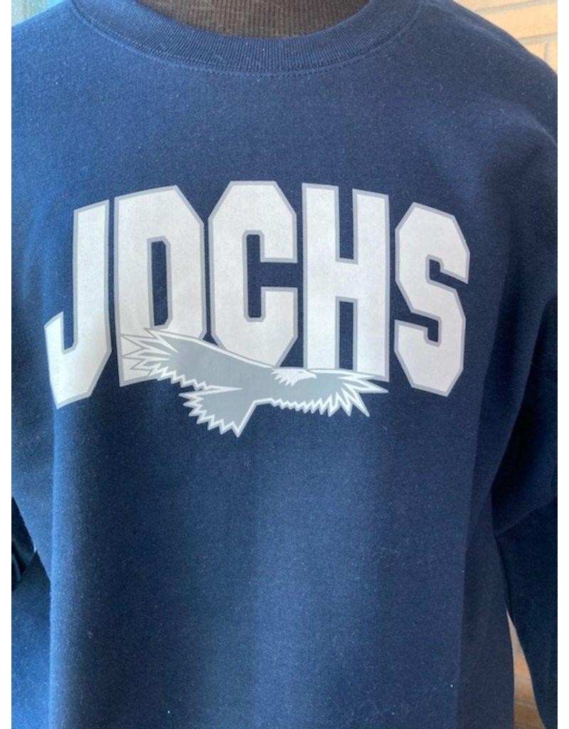 SWEATSHIRT - JDCHS Eagle Crew Neck, Unisex