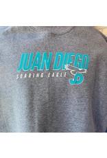 SWEATSHIRT - Juan Diego Soaring Eagle Crew Neck, Unisex