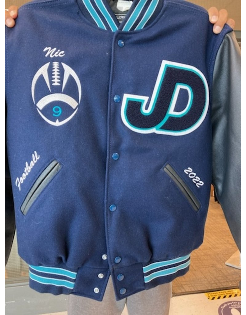 JD Academic Achievement Letterman Jacket