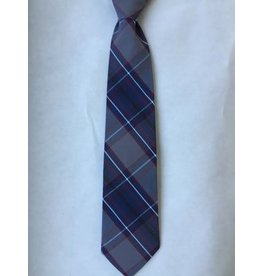 Saint Olaf Clip on Plaid Tie