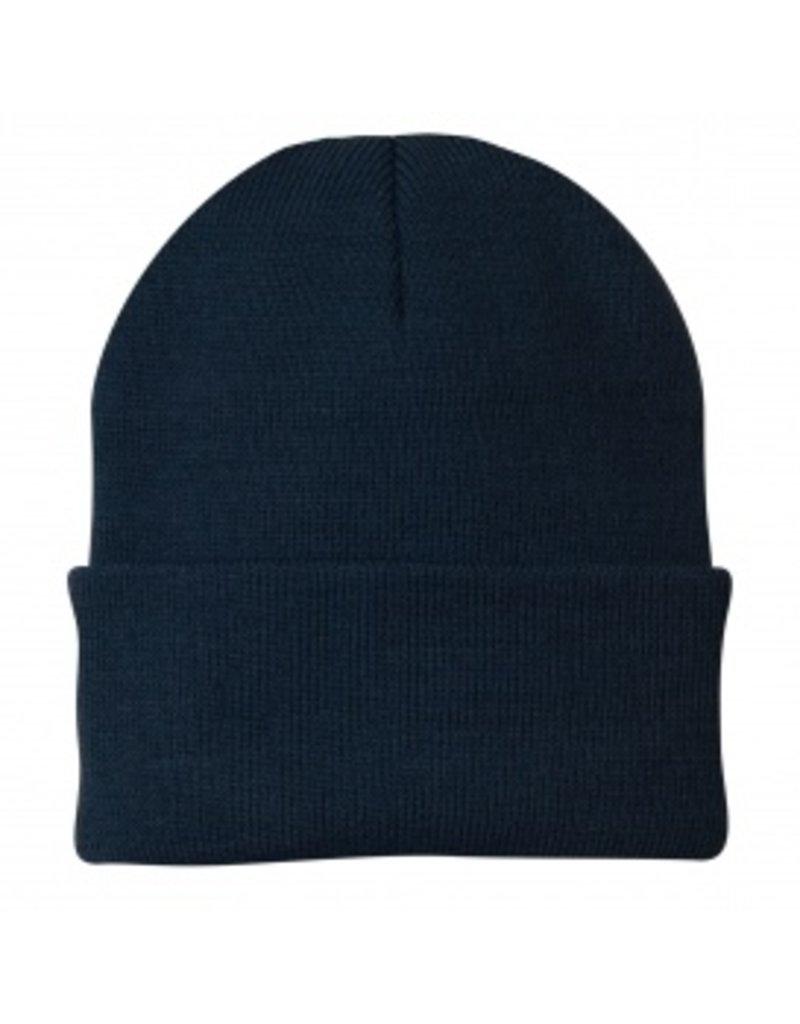 Beanie - Fleece Navy Beanie Hat