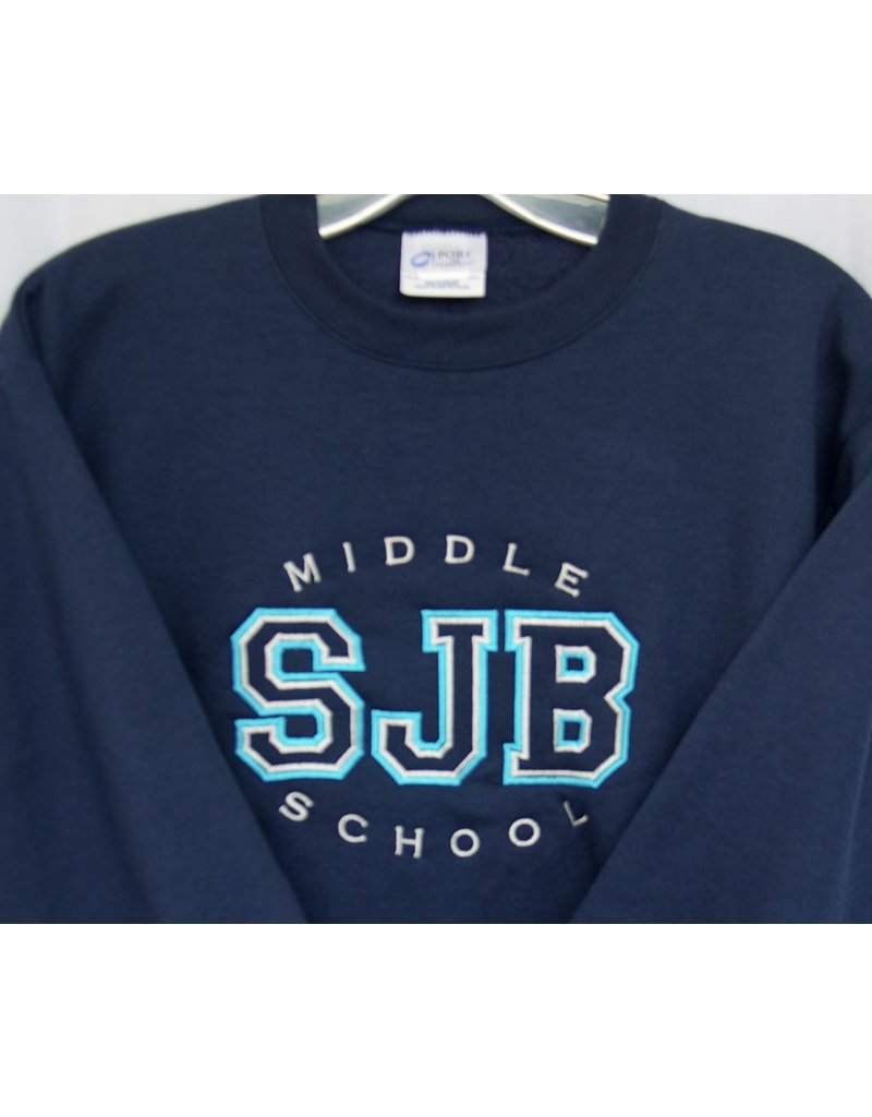 SJBMS Crew Neck Sweatshirt