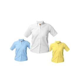 SHIRT - Oxford Short Sleeve, Girls