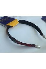 SF Thin Hard Headband, Plaid
