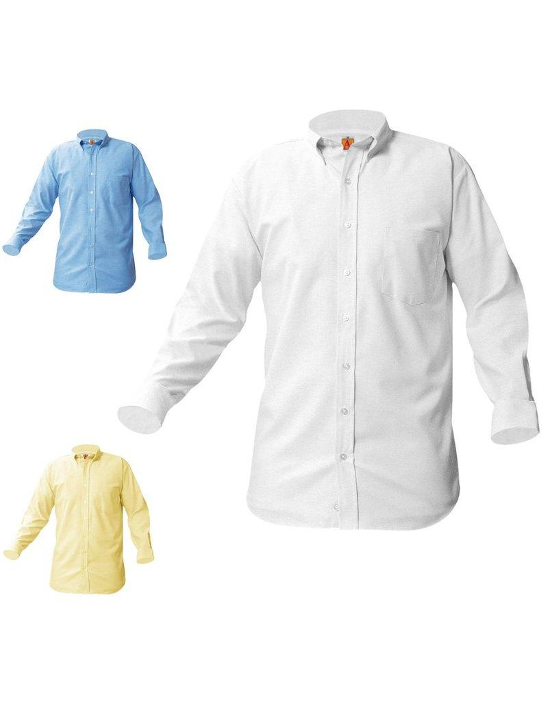 SHIRT - Oxford Shirt, Long Sleeve, Boys