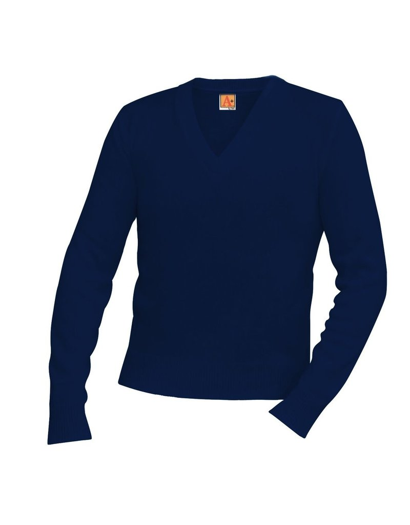 SWEATER - V-Neck Pullover Sweater, Unisex