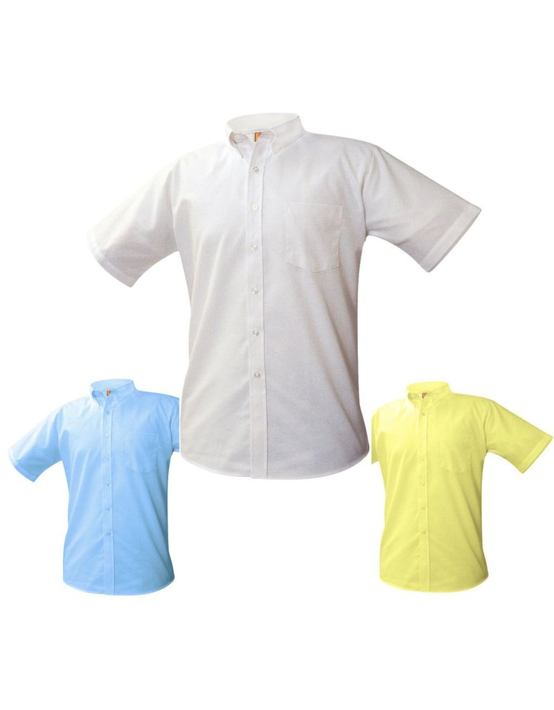 Boys Oxford Short Sleeve Shirt