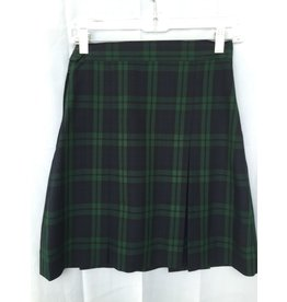 Juan Diego Plaid Skirt