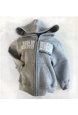Toddler/Youth Full Zip Hoodie, Gray