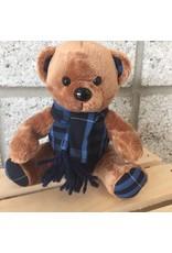 Plaid Plush Bear