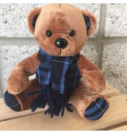 Plaid Plush Bear