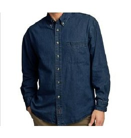 JD Denim Unisex Long Sleeve Shirt with JD logo