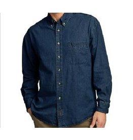 JD Denim Unisex Long Sleeve Shirt with JD logo